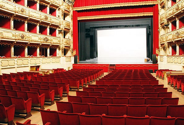 Teatro Film Milan Cinema Interior Design Armchairs