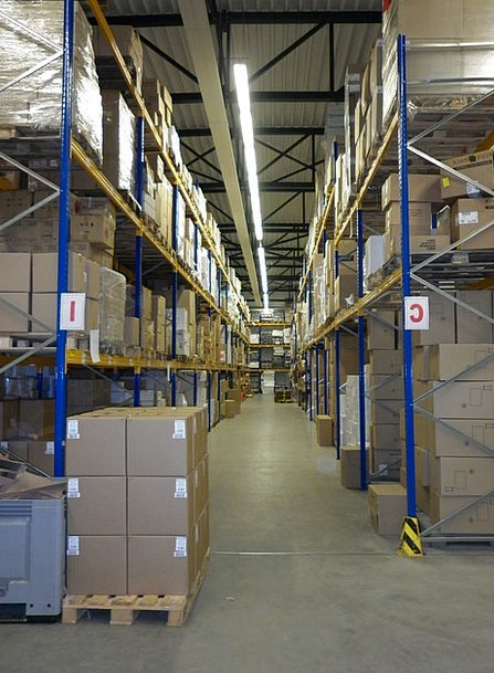 Warehouse Granary Storing Stock Standard Storage