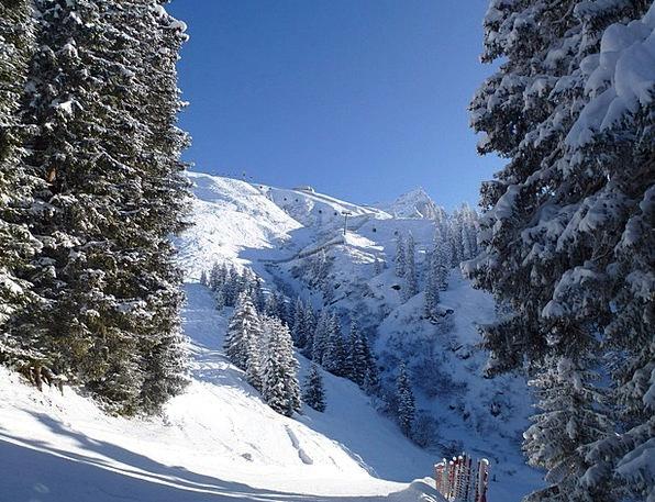 Winter Season Austria Montafon