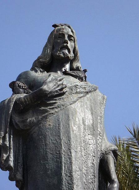 Jesus Figurine Fig Statue Holy Consecrated Religio