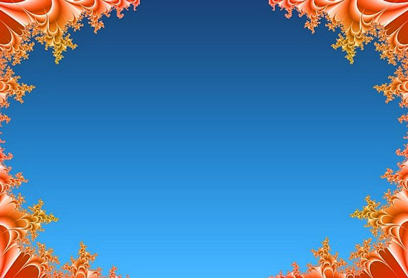 Frame Edge Textures Backgrounds Fractal Picture Fr