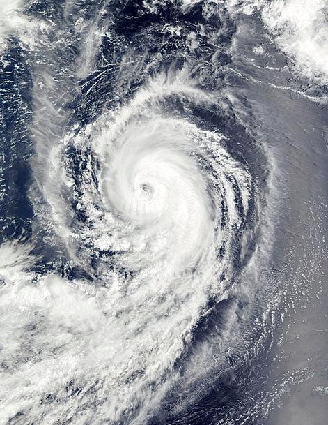 Hurricane Benilde Clouds Vapors Winter Storm Forwa