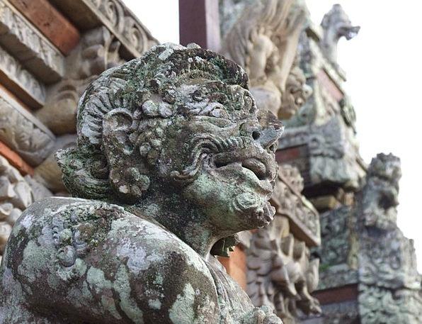 Bali Temple Shrine The Hindu