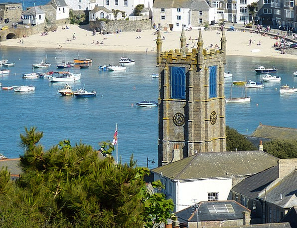 St Ives Vacation Tower Travel England Steeple Buil