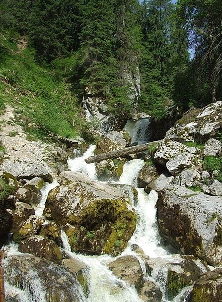 Waterfall Cascade Landscapes Nature Stream Waterco