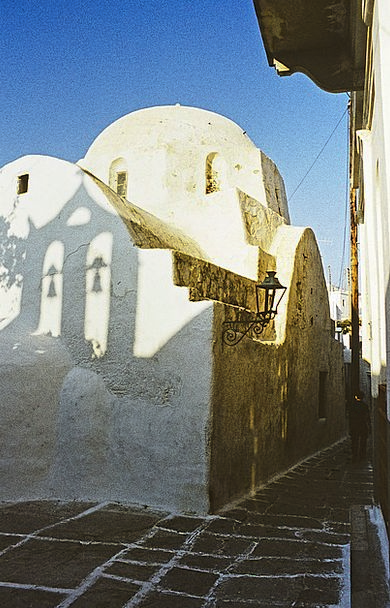 Greece Greek Island Ios Architecture Chapel Sanctu