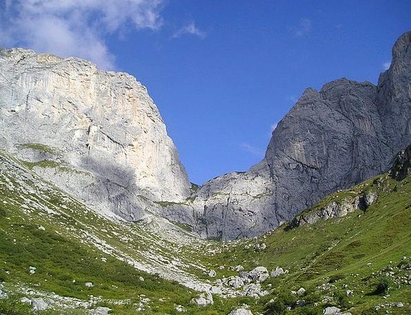 Swiss Corner Rätikon Kirchlispitzen Mountains Swit