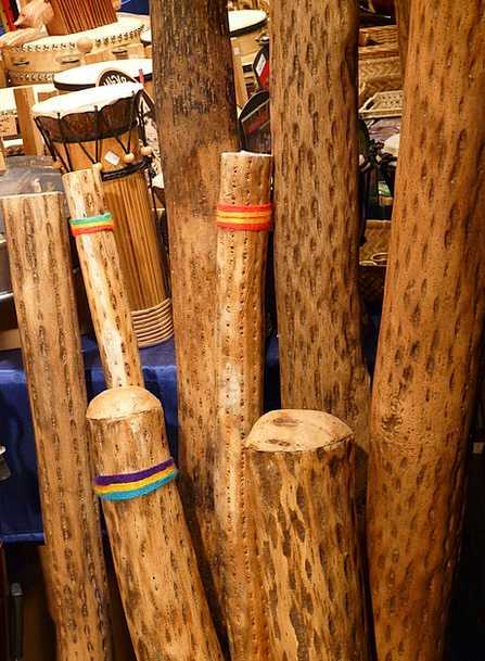 Didgeridoo Overtone Rich Musical Instrument Wind I