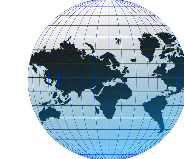 Globe Sphere Universal Trip Around The World World