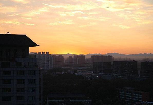Sunrise Dawn Vacation Travel China Porcelain Beiji