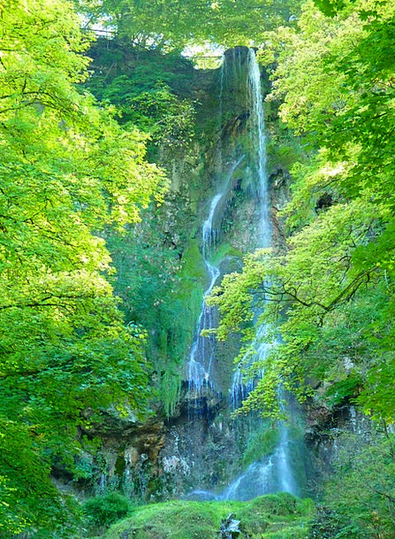 Waterfall Cascade Landscapes Nature Water Aquatic
