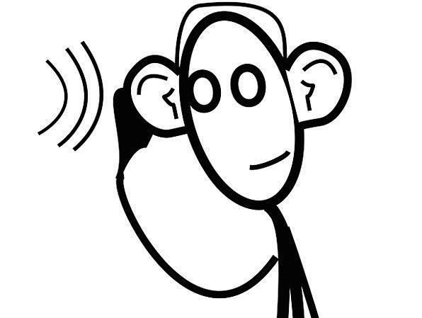 Hearing Earshot Communication Attending Computer E