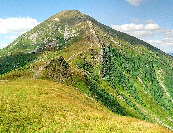 The Carpathians Landscapes Nature Goverla Ukraine