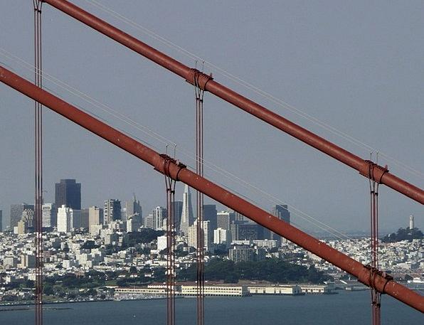 San Francisco Buildings Urban Architecture Califor
