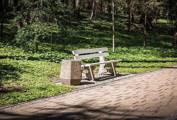Bench Seat Common Spacer Insertion Park Rest Break