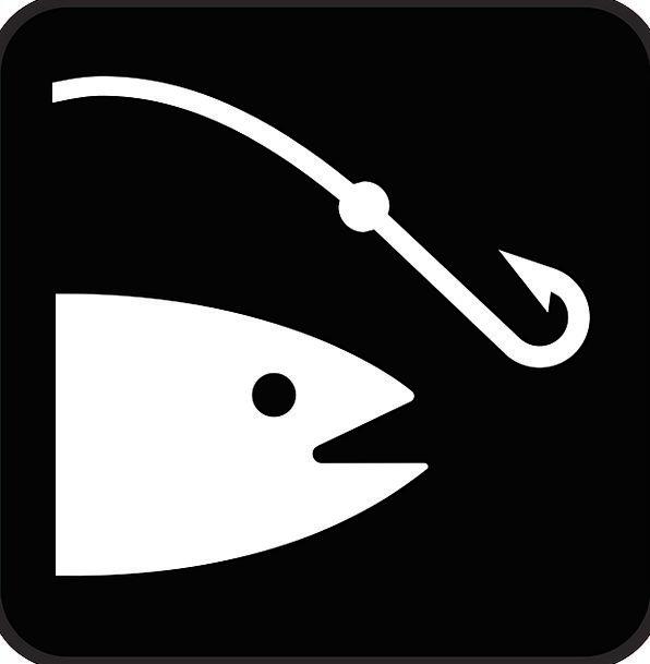 Fishing Drink Food Fishing-Rod Angling Black Fish