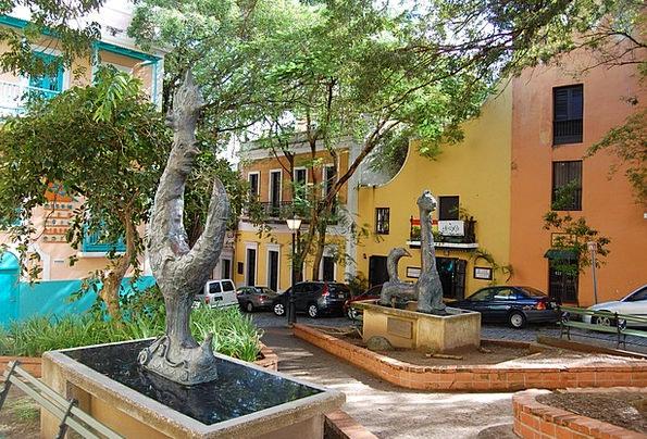 San Juan Buildings Architecture Old Town Puerto Ri