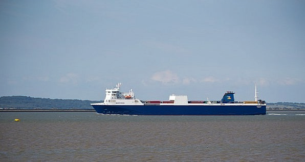 Ship Container Ferry Vessel Uk Water Aquatic Merch
