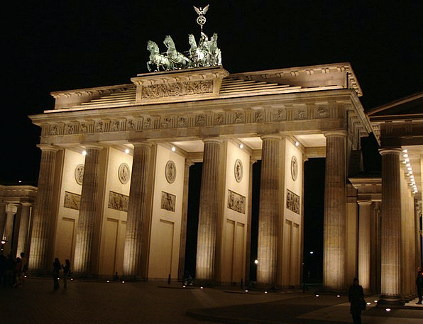 Brandenburg Gate Buildings Architecture Building S