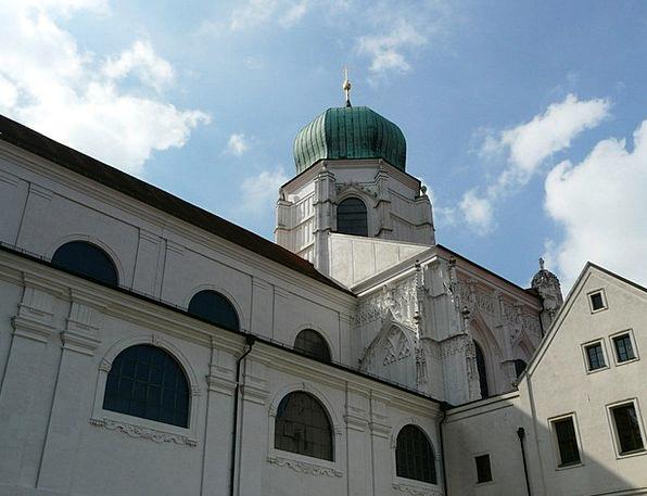 Dom Passau St Stephan Sixtus Chapel Baroque Ornate