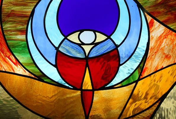 Church Window Cut-glass Tiffany Glass Faith Religi