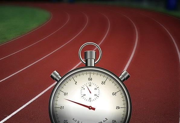 Stopwatch Period Treadmill Routine Time Run Race C