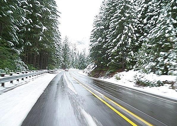Driving Heavy Traffic Season Transportation Road S