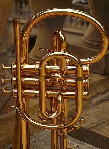 Flugelhorn Bugle Announce Brass Instrument Brass I