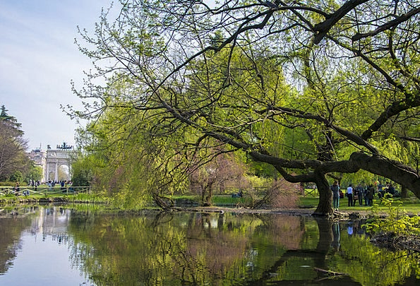 Milan Vacation Common Travel Italy Park Nature Eur