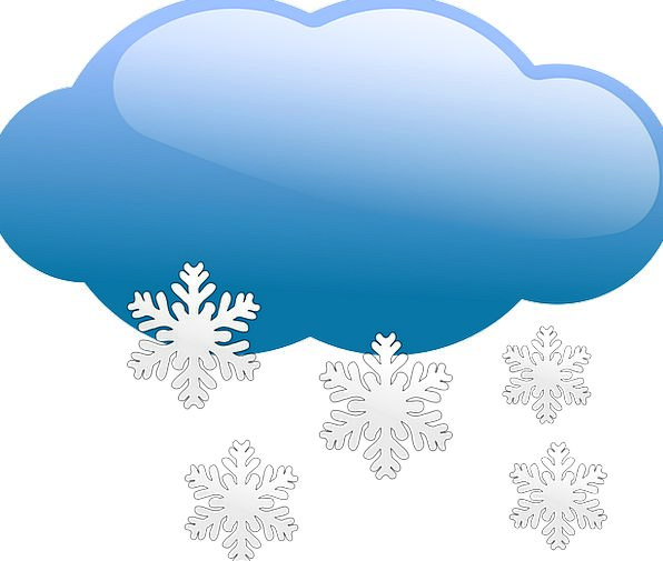 Cloudy Overcast Climate Snow Snowflake Weather Snowing