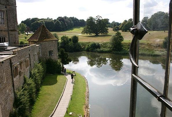 Lake Freshwater Fortress Leeds Castle Castle Engla
