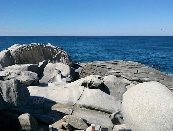 Sea Marine Pillar Winter Sea Rock