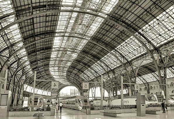 Station Position Train Pullman Barcelona