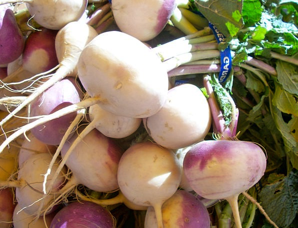 Turnips Potatoes Root Origin Vegetables Healthy Fi