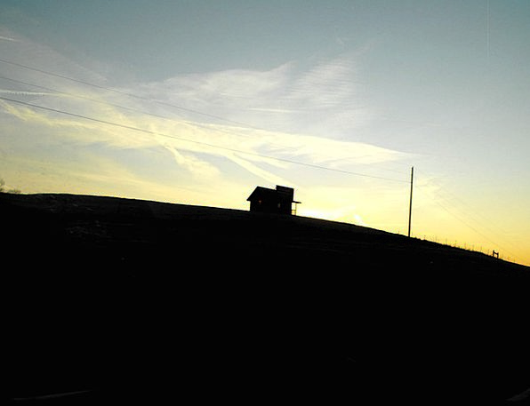 Sunrise Dawn Buildings Structure Architecture Wint