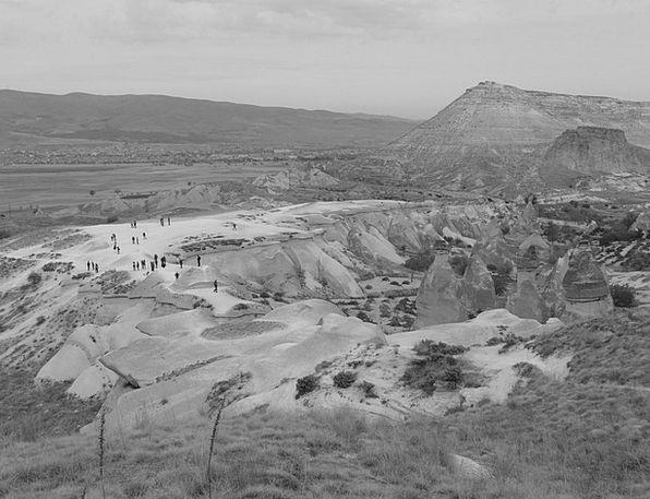 Valley Of Love Plateau Table Tufa Plateau Turkey V