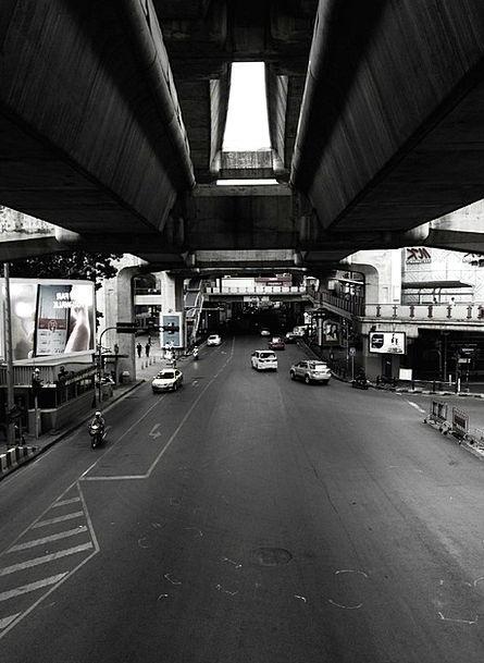 Thailand Traffic Transportation Landscape Scenery