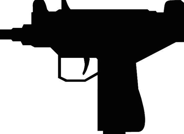 Pistol Firearm Mini Small Gun Free Vector Graphics