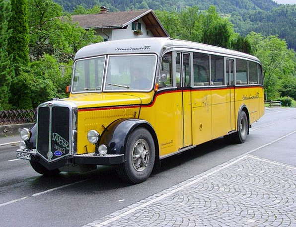Service Bus Car Oldtimer Bus Auto Old Dare Ancient