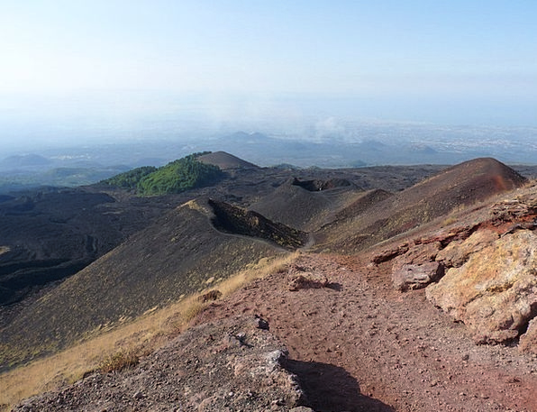 Etna Landscapes Nature Nature Countryside Sicily S