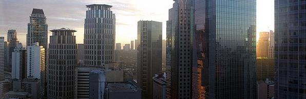 Panorama View Vacation Travel Ayala Office Buildin