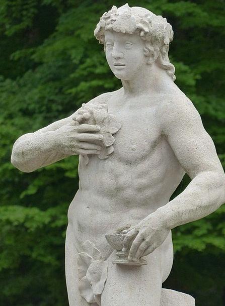Stone Figure Gentleman Statue Figurine Man Garden
