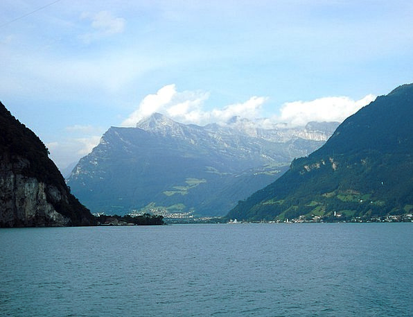 Lucerne Switzerland Swiss Lake Freshwater Mountain