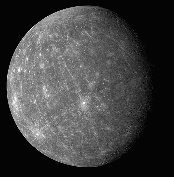 Mercury Earth Surface Superficial Planet Solar Sys