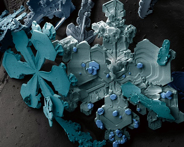 Snow Snowflake Minerals Ice Crystals Frost Ice Cry