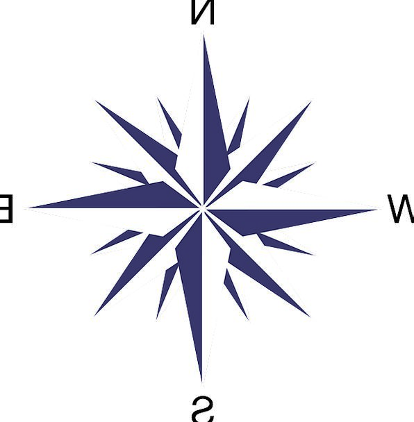 compass rose breeze directions instructions wind orientation