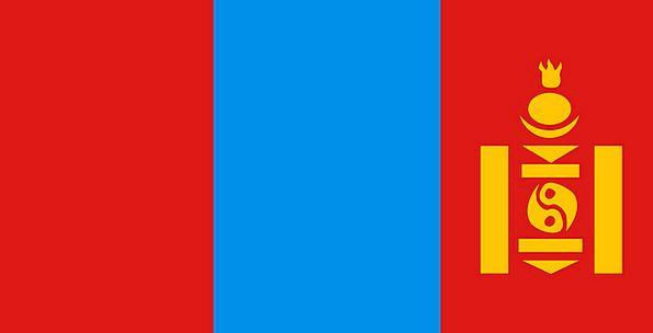 Mongolia Standard Symbol Flag Country Republic Asi