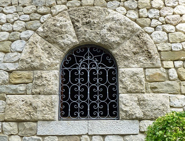 Window Gap Antique Medieval Feudal Ancient