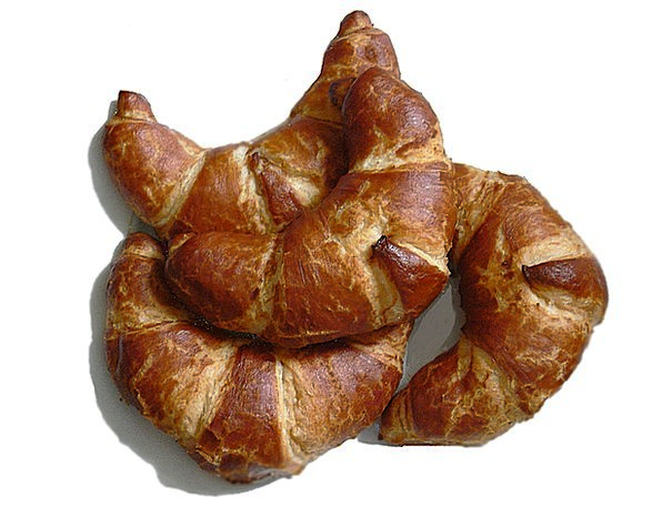Croissants Drink Food Puff Pastry Laugencroissants