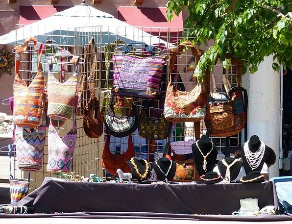 Handmade Chain Purse Prize Necklace Handbag Santa